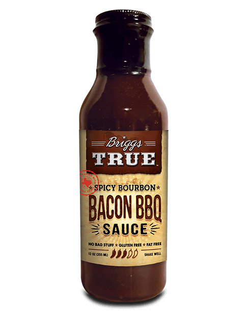 Spicy Bourbon Bacon BBQ Sauce best on Ribs, Chicken ...
